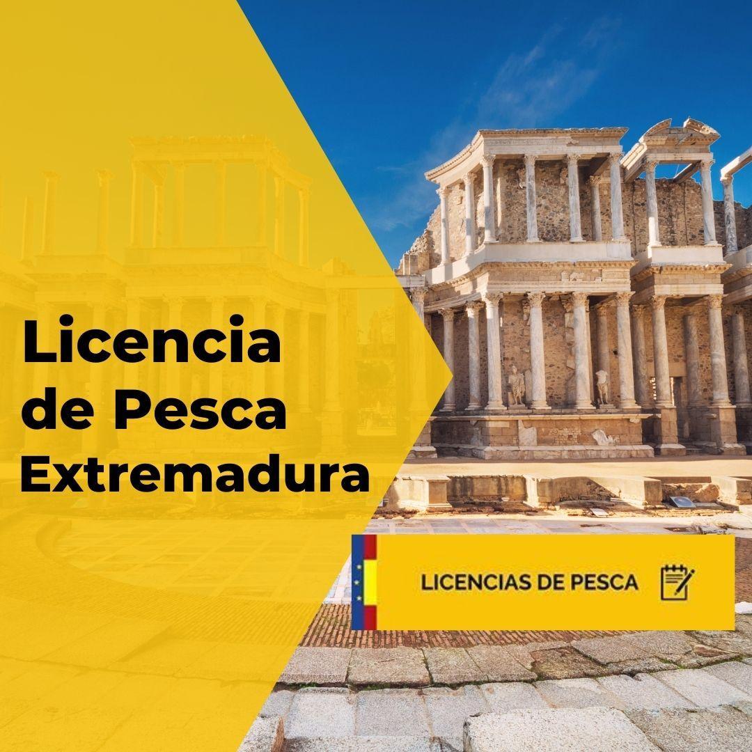 Licencia de pesca de Extremadura