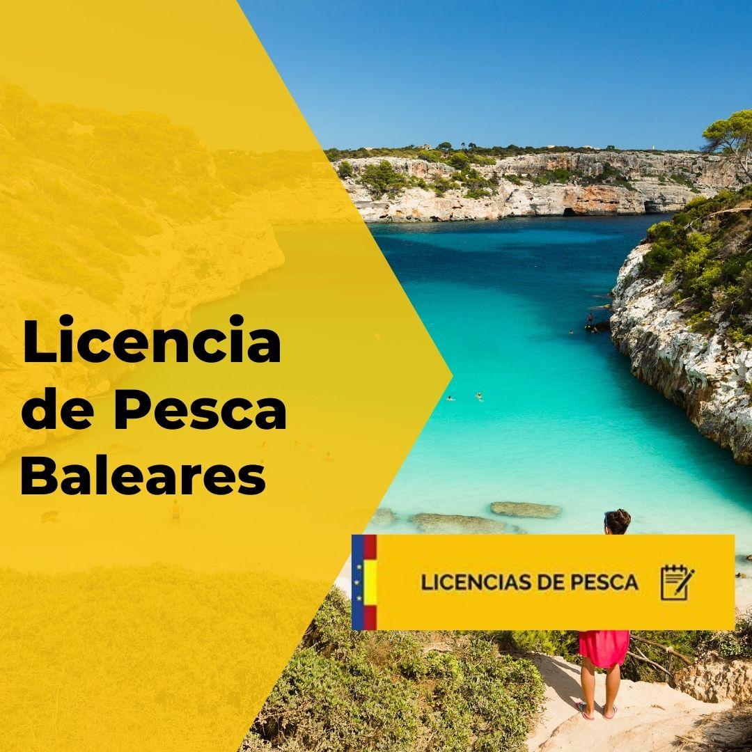 Licencia de pesca de Baleares