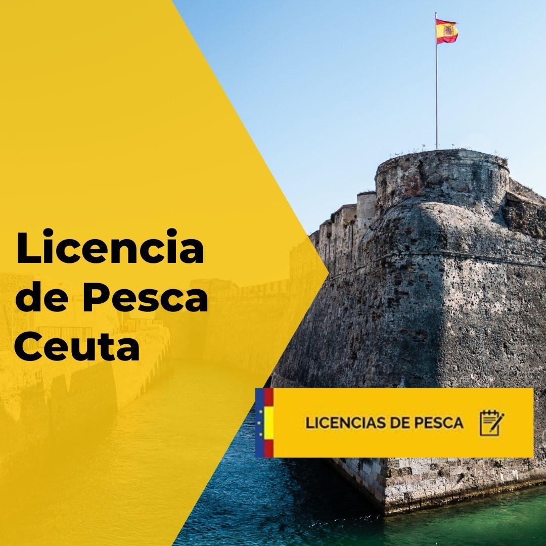 Licencia de pesca de Ceuta