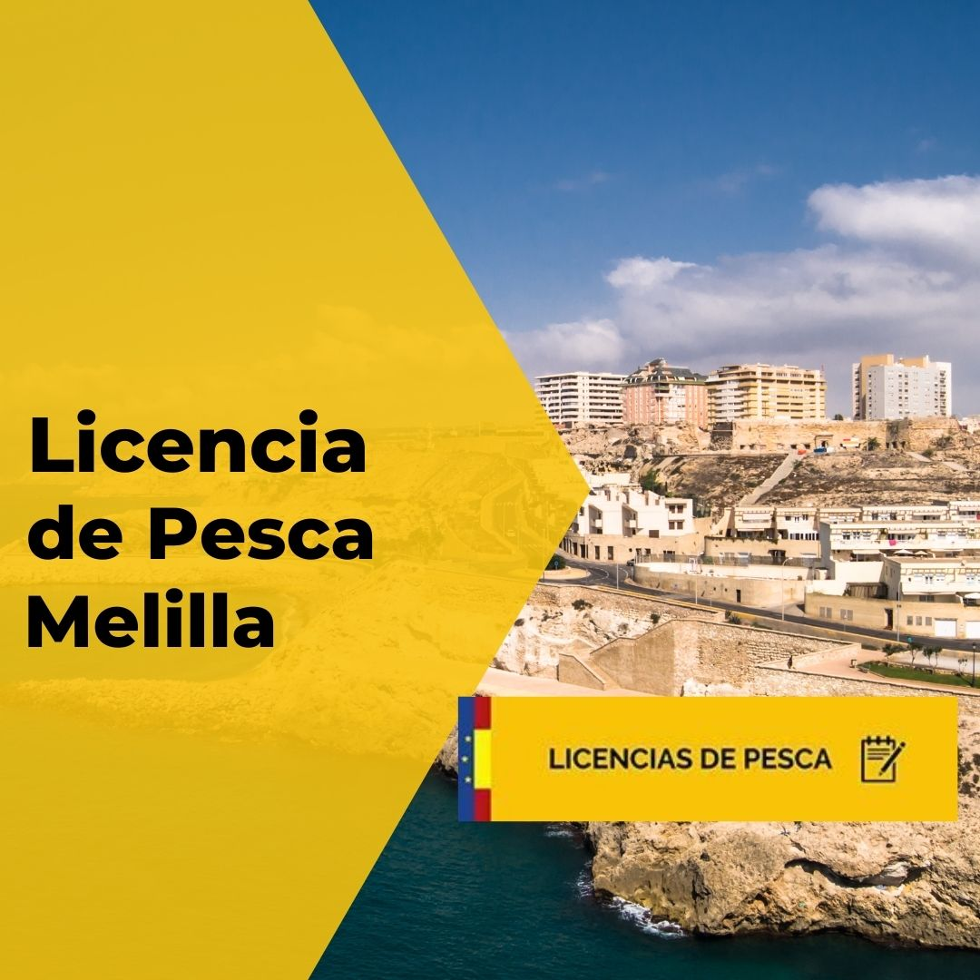 licencia de pesca Melilla